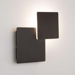 Настенный светодиодный светильник 40136/1 Черный