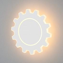 Настенный светодиодный светильник Gear L LED белый