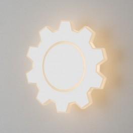 Настенный светодиодный светильник Gear M LED белый