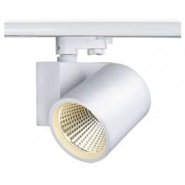 Трековый светодиодный светильник 3-фазный LUNA LNT324 30W