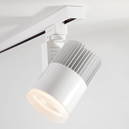 Однофазный трековый светодиодный светильник Accord Белый 30W (LTB 20)