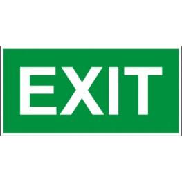 Светодиодный аварийный светильник LC-SIP-E27-3015 Exit 300х150 мм.