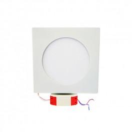 Встраиваемая светодиодная панель (LC-D02W/D02G -10W) квадратная 180 мм Downlight 10W