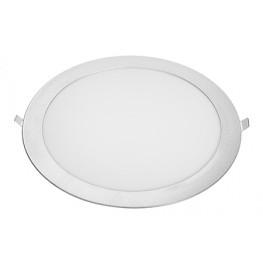 Встраиваемая светодиодная панель (LC-D03W/D03G -20W) круглая 240 мм Downlight 20W