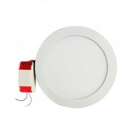 Встраиваемая светодиодная панель (LC-D01W/D01G -10W) круглая 180 мм Downlight 10W