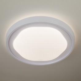 Управляемый накладной светодиодный светильник 40005/1 LED белый