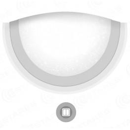 Управляемый светодиодный светильник, бра ARION 10W OV-284-ON/OFF-SHINY-220-IP44