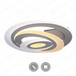 Управляемый светодиодный светильник Spiral double 60W OV-500-white-220-ip44
